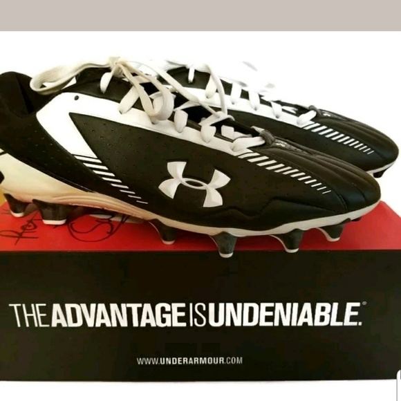 efe236a08 Under Armour Nitro Low MC Cleats Heat Gear Size 13